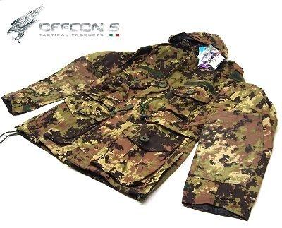 DEFCON 5 Veste SAS Smock Jacket M Taille vegetato Italien
