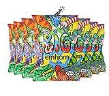 einhorn Kondome Big (57mm) Jahresvorrat - 49 Kondome - 7 Tüten - vegan, hormonfrei, feucht, 100% geprüft, XL