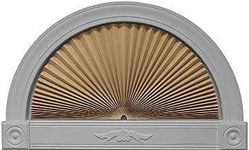 "Redi Shade 3607274, Natural, 72"" x 36"" Original Arch Sheer View Solar Fabric Shade"