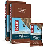 CLIF BARS - Sweet & Salty Energy Bars - Chocolate Chunk with Sea Salt - Made with Organic Oats - Plant Based Food - Vegetarian - Kosher (2.4 Ounce Protein Bars, 24 Count) Packaging May Vary