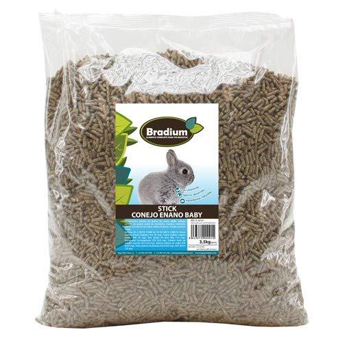 Bradium Pellets 3'5Kg de Pienso para Conejos Enanos Baby