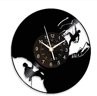 TIANZly Reloj de Pared LED para Escalar montañas Ex reme s ...