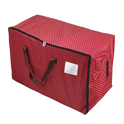 Übergroße 600D Oxford Aufbewahrungstasche Storage bag für saisonale Kleidung Tragetasche wiederverwendbare Wäschesack für sperriger Gegenstände doppelt Reißverschlusstasche mit 100L Volumen
