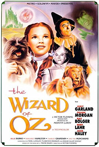 The Wizard of Oz Movie Poster International Version, Size 24x36