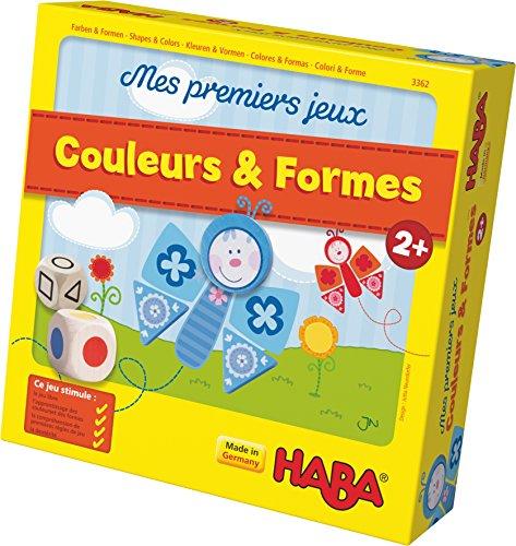 HABA 3362 - Mes premiers jeux Couleurs & Formes (Fabriqué en Allemagne)