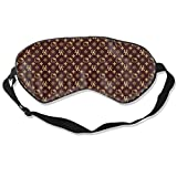 Hello-Kitty Eye Sleep Mask for Sleeping with Adjustable Strap Blackout Sleep Mask, Smooth & Comfortable & Soft Night Blindfold Eye Shades for Travel/Naps Unisex