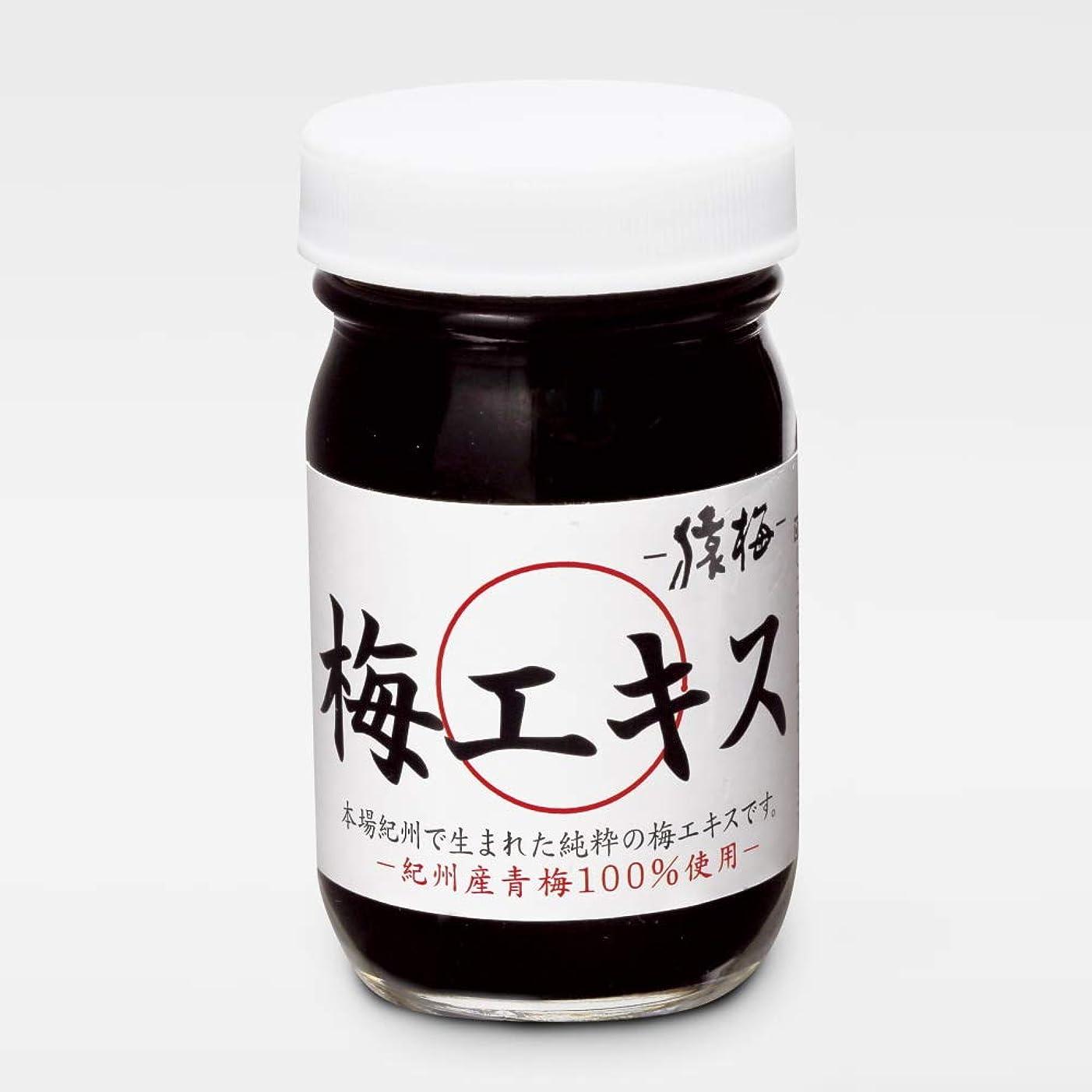 アヒル差し引く保証する猿梅本舗 梅肉エキス 無添加 (紀州梅100%使用、練状95g)