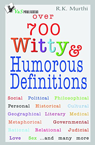 Over 700 Witty & Humorous definitions (English Edition)