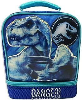 JURASSIC WORLD PARK Fallen Kingdom BPA & PVC Safe Insulated Lunch Tote Bag Box