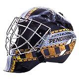 Franklin Sports Pittsburgh Penguins NHL Hockey Goalie Face Mask - Goalie Mask for Kids Street Hockey - Youth NHL Team Street Hockey Masks