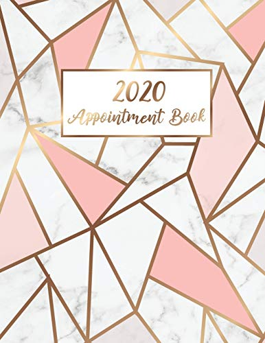 2020 Appointment Book: Marble Line Gold | 365 Days with Times Daily and Hourly W/ To Do List Schedule Agenda Logbook | 2020 Diaries Appointment Book ... Appointment Book 2020 Daily and Hourly)