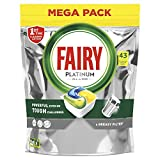 Fairy Platinum Limón - Pastillas para lavavajillas, 43 cápsulas