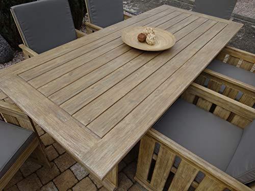 SG 19-teilige Luxus Gartenmöbelgruppe Tita, in BAU-Holz-Optik, Siena Garden - 5