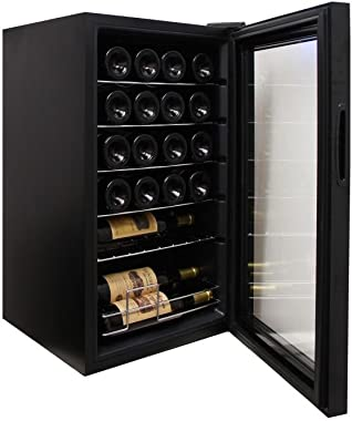 RCA RMIS2434 Freestanding Beverage Center and Wine Cellar Fridge