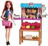 Barbie FJB27 Berufe Zubehör-Set Marktstand