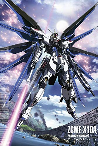 Gundam Puzzles, Wooden Puzzles 300/500/1000 Pieces,Black Wings, Adult Creative Gift Decompression Jigsaw Puzzles Cartoon Educational Toys (Size : 1000)