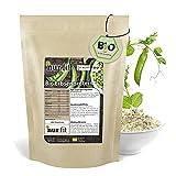 nur.fit by Nurafit BIO Erbsenprotein-Pulver 500g - natürliches veganes Proteinpulver mit 80%...