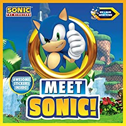 Amazon Com Meet Sonic A Sonic The Hedgehog Storybook Ebook Licenses Penguin Young Readers Kindle Store