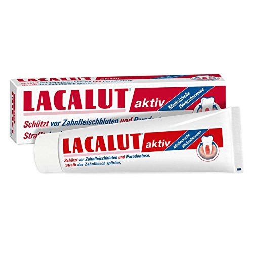 Lacalut aktiv Zahnpasta 100ml 3er Pack (3x 100ml)