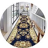 HYHMJ-Magnífico Corredores De Pasillo Extralargos Utilizado Para Dormitorio/Auditorio/Baño/Escaleras Estrechas Entrada Superlarga Aislamiento Acústico Antideslizante Alfombras,A,90x200cm