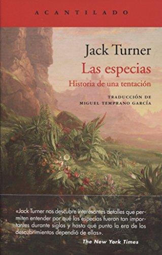 Las especias: Historia de una tentación (El Acantilado)