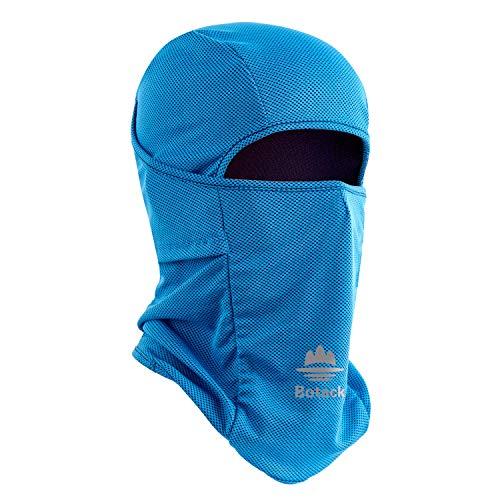 Botack Balaclava Ski Mask UV Sun Protection Construction Breathable Balaclava Face Mask for Cycling for Men Women Blue