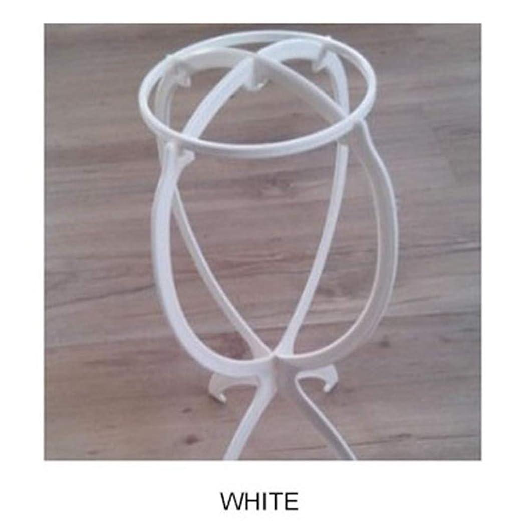 怖い舗装する魔術ACHICOO ウィッグ専用ブラケット カツラ収納 棚 ファッション 白
