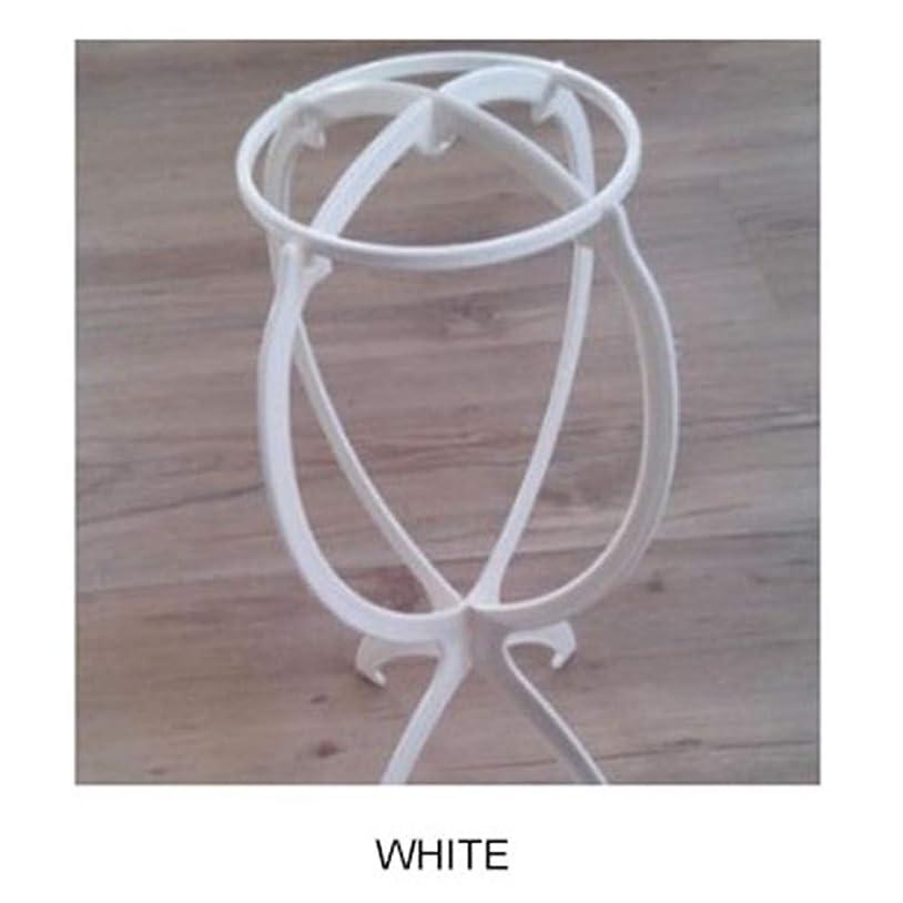 住人適合しましたディレクターACHICOO ウィッグ専用ブラケット カツラ収納 棚 ファッション 白