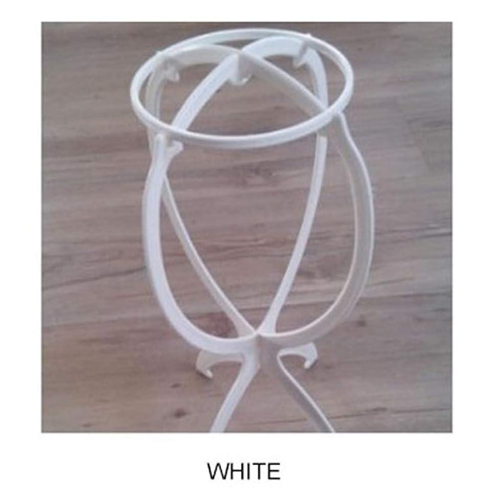 死読むプールACHICOO ウィッグ専用ブラケット カツラ収納 棚 ファッション 白