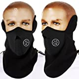 AKORD Windproof Face Mask Cover Caps Winter Warm Face Cover Neck Warmer Ski Hat Winter Outdoor Ski Mask Headcover
