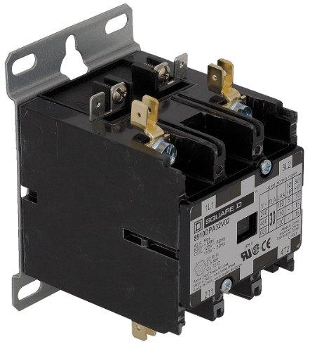 NIB C25DND230T Contactor, 2P, 30A, 600V