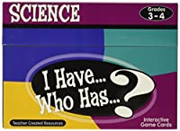 Teacher Created Resources I Have Who Has Science Card