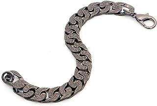 Dark geometric cashew flower jewelry national style bracelet men's hip hop night show
