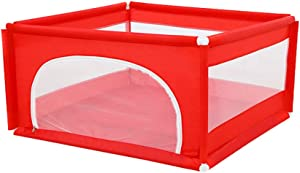 Toddler Crawling Fence with Mat Square Children s Play Fence Baby Playpen Thicken Household Fence Playyard Anti-Fall Protective Fence Kids Safety Play Center Yard