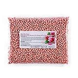 Sanfiyya Cera Liddy Cuerpo Bean Bean Cera Dura depilatoria es Adecuado para Todos Bean membranas de la Piel 500 g de Rosa