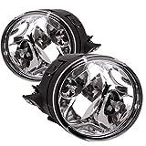 Fog Lights Fit for Nissan Titan 2004-2015 Nissan Armada 2005 2006 2007 (OE Style Clear Lens w/ 889 12V 37.5W Bulbs)
