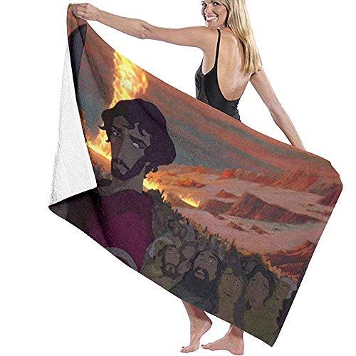 Mathillda Der Prinz von Ägypten DIY Printing Fabric Handtücher Badetuch Quick Dry Polyester Weiß
