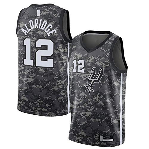 Populares Celebrity Jerseys Swingman Negro # Nombre? Equipo Uniforme # 12 Camiseta de manga corta Edición City JerseyOutdoor Icon Edition