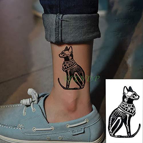 ljmljm 5pcs Impermeable Etiqueta engomada del Tatuaje Antiguo ...