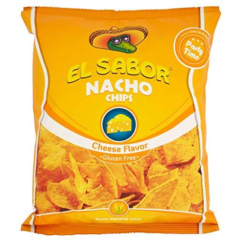 El Sabor Nachos Chips Cheese - 225 gr