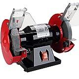 Monzana Doppelschleifer | 250 Watt | Funkenschutz | Grob- und Feinschleifscheibe | Schleifgerät Schleifbock Schleifen