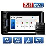TOPDON ArtiDiag800 BT Outil Diagnostic Voiture pour Diagnostics des Systèmes Complets, Valise Diagnostique OBD2 Bluetooth avec 28 Fonctions de Réinitialisation, AutoVIN pour Plus de 10000 Modèles