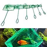 Dabixx 1 Pezzi Acquario Serbatoio di pesce Gamberetti quadrati Piccolo Betta Tetra Fish Ne...