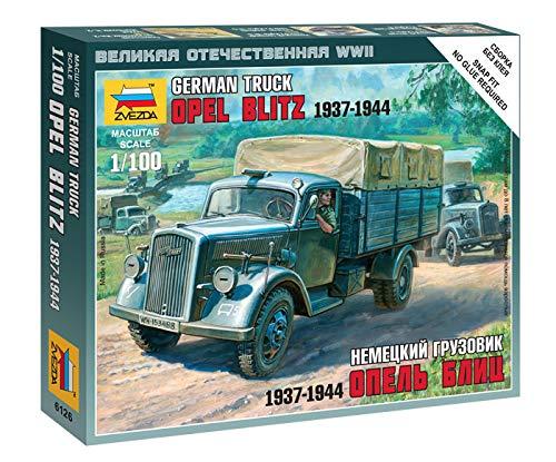 Zvezda – Z6126 – modelbouw – vrachtwagen Duits 3T – schaal 1: 100