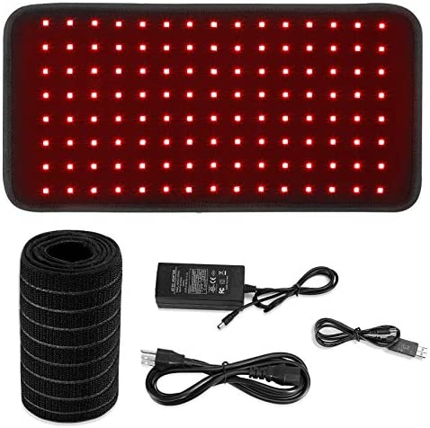 Red Light Therapy Wearable Wrap for Pain Relief 60W Portable 660nm and 850nm Red Light Therapy product image