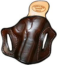 Right Hand - Tucker & Byrd Leather Full Pancake Belt Holster - Ruger GP100 3