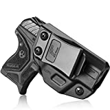 Ruger LCP 2 Holster, Polymer Concealed Carry IWB Holster for LCP II Holster   Adj. Cant & Retention   Inside Waistband   LCP 2 Accessories