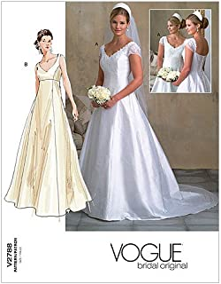 Vogue Patterns V2788 Misses'/Misses' Petite Dress, Size 18-20-22