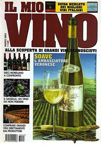 Il mio vino 3 giugno 2003 Soave-Vincenzi Monaci-Museo del Fiasco-Sassella