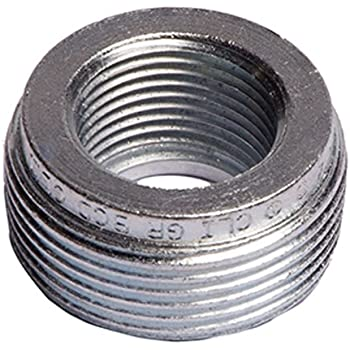 Reducing 1-3//4-Inch Rigid//IMC Conduit Steel Hubbell-Raco 1144-20 Bushing